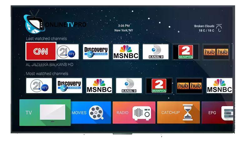 Online IPTV Pro The Best IPTV Provider