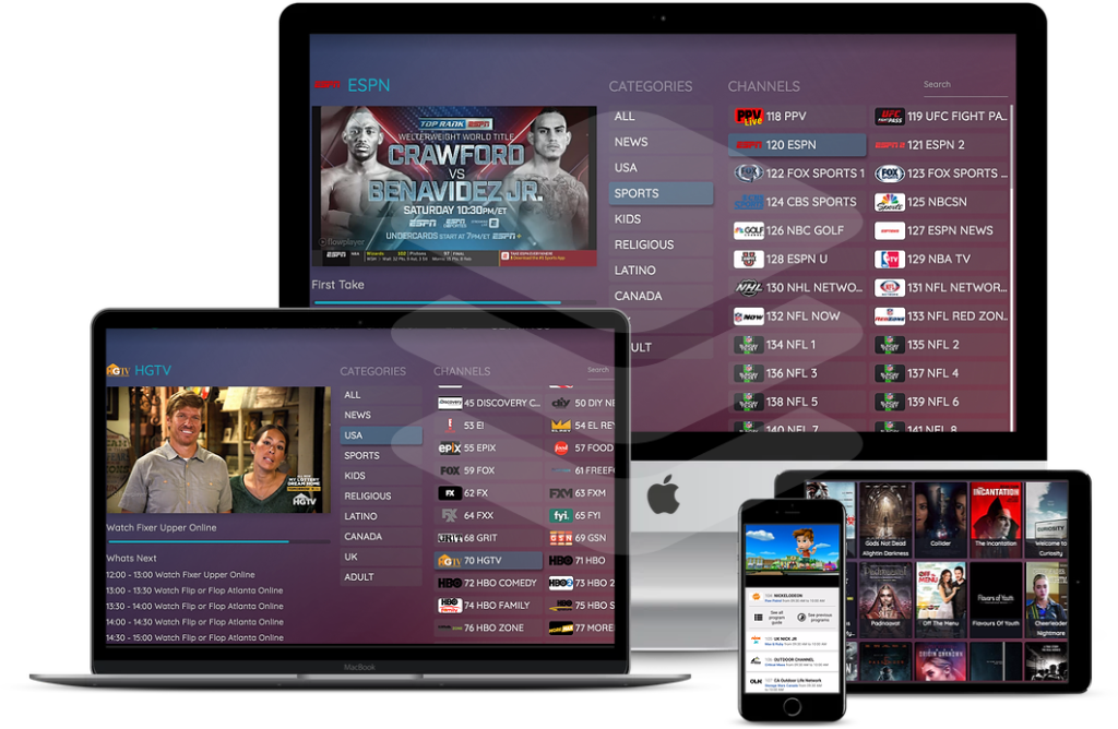 Buy Online IPTV Pro - VOD and Catch Up